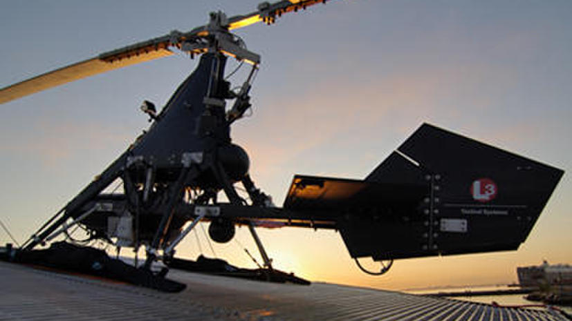 ВМС США усиливаются вертолетными беспилотниками