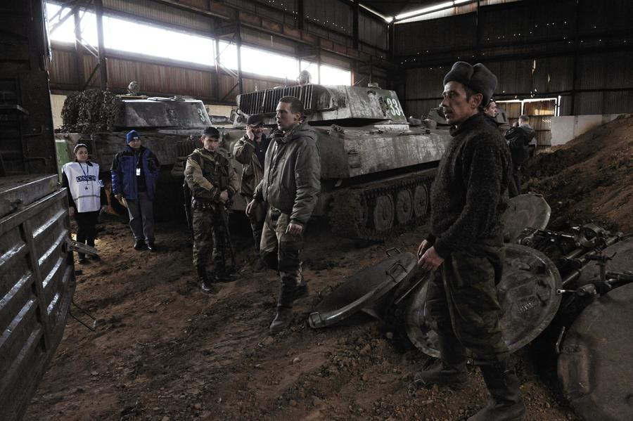 Владислав Дейнего: ЛНР и ДНР закончили отвод тяжёлой техники