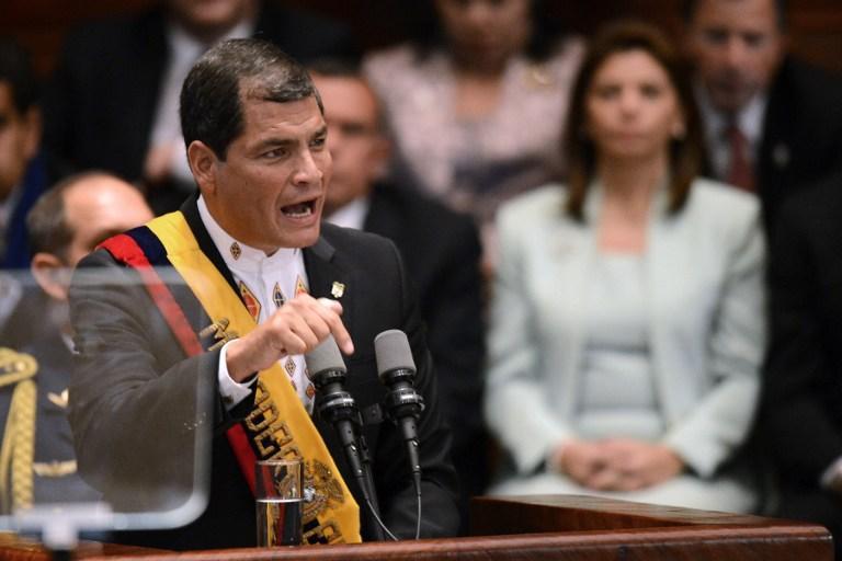 Рафаэль Корреа: обвинения в сторону Эквадора из-за Сноудена похожи на хамство