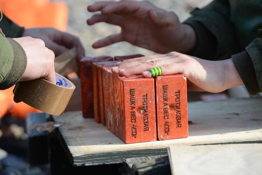 Протестующие хранили почти тонну взрывчатки в захваченном здании администрации Винницы