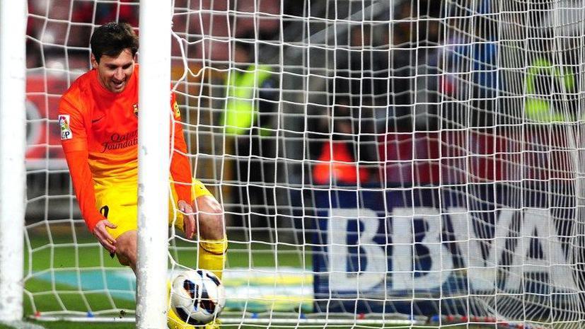 Лионель Месси покорил отметку в 300 мячей за «Барселону»