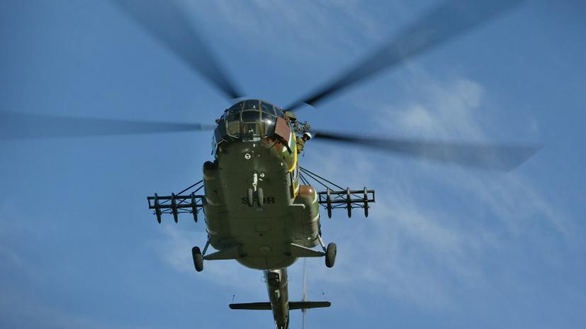 В Кировоградской области разбился вертолет МВД Украины: погибли 5 человек