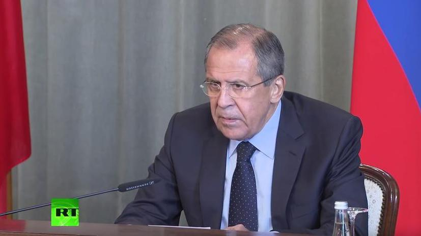 Сергей Лавров: Россия продолжит поставку военной техники сирийской армии