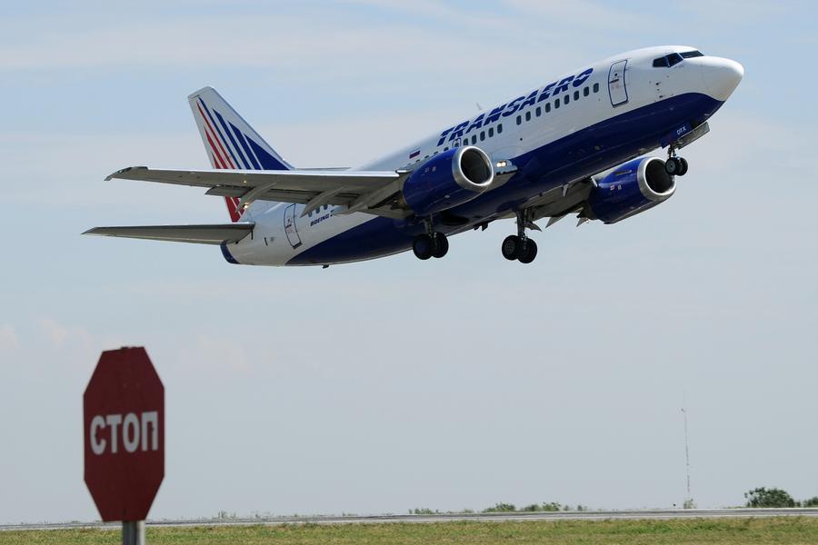 Украина уведомила российские авиакомпании о запрете полётов на территорию страны