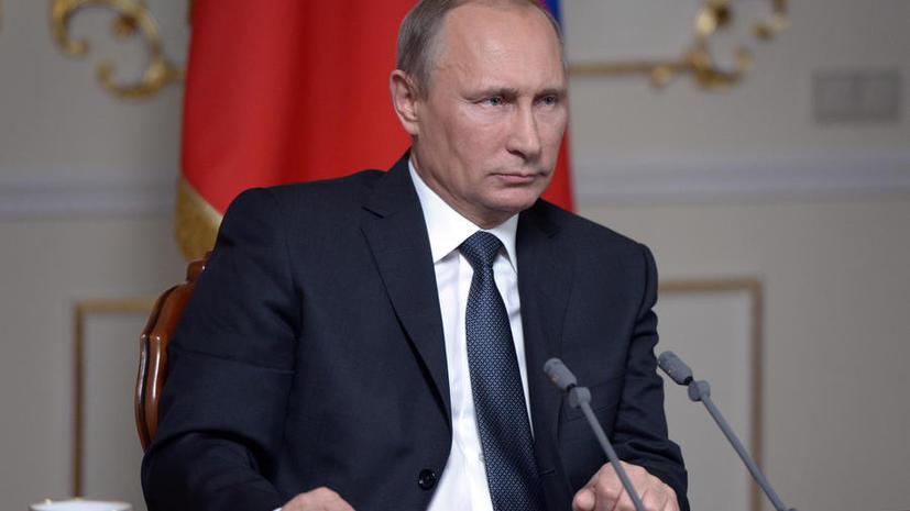 Владимир Путин: Россия не могла бросить Крым и его жителей под каток националистов