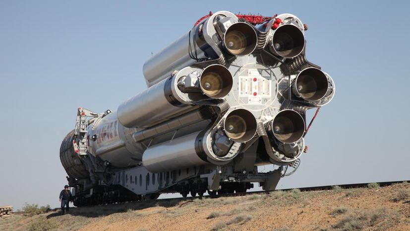 Ракета «Протон» упала 16 мая из-за производственного дефекта