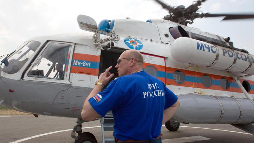 Обнаружены останки погибших в результате крушения вертолета Ми-8