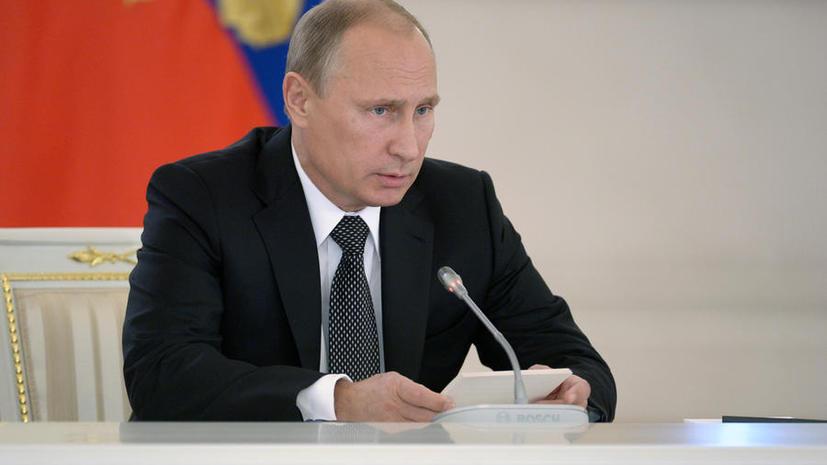 Владимир Путин: Авиаудары по базам ИГ не должны проводиться без согласия властей Сирии