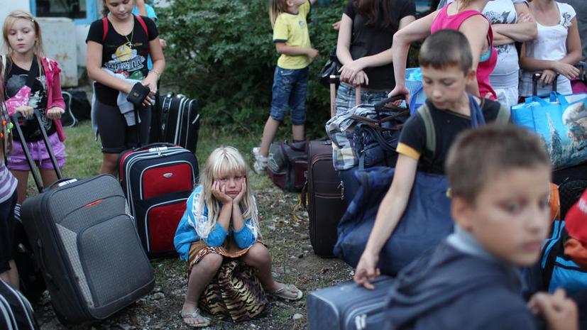 Из-за наводнения часть школьников Амурской области начнут учебный год в детском лагере вместо школы