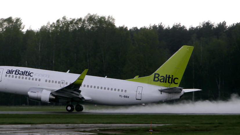 Депутат сейма устроил скандал из-за русского языка в самолёте airBaltic