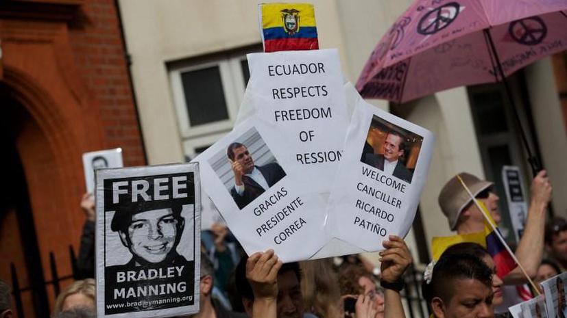 Джулиан Ассанж попросил Барака Обаму прекратить охоту на сторонников WikiLeaks