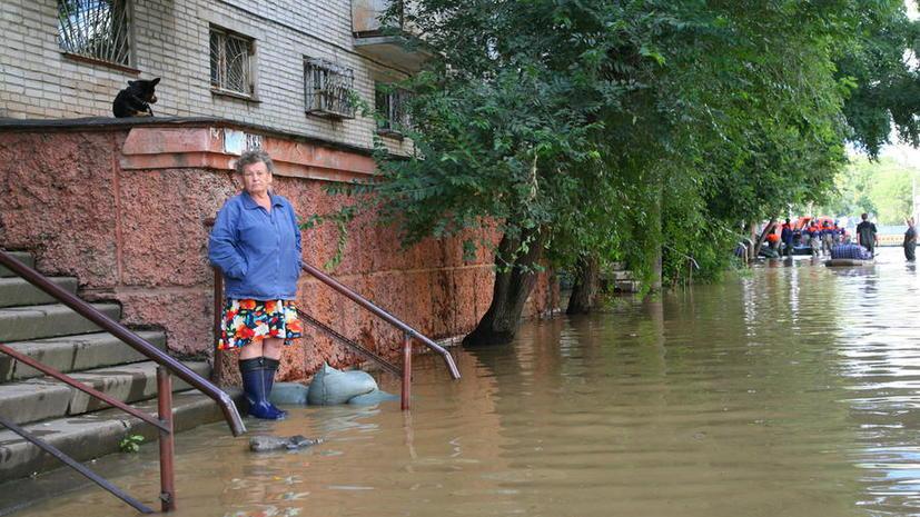Уровень воды Амура в районе Хабаровска поднялся до 805 сантиметров