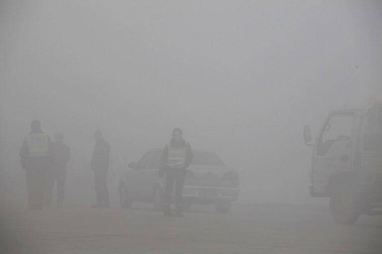 Впереди туман: смог в Китае свёл на нет работу дорожных камер