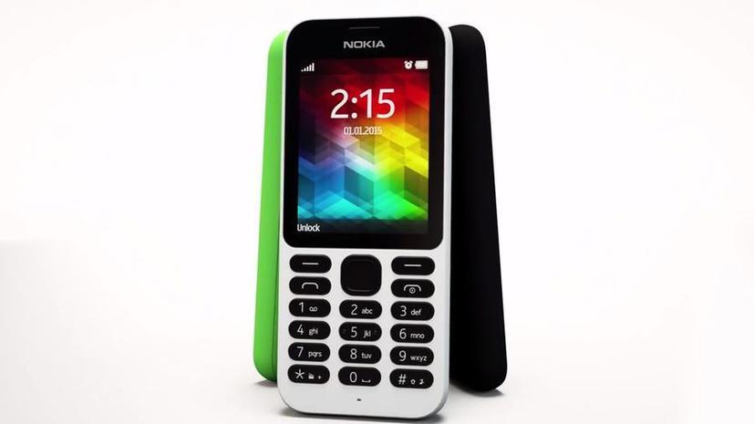 Новая Nokia 215 от Microsoft станет самым дешёвым телефоном для интернет-сёрфинга