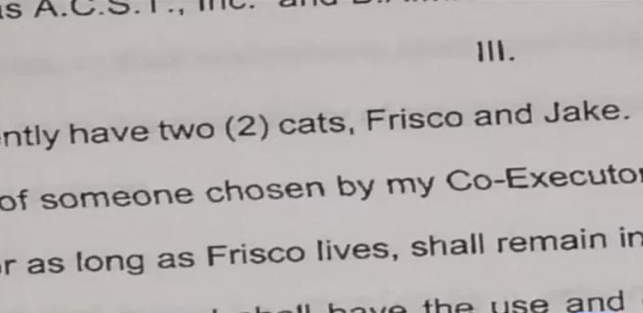 Коты унаследовали от своего хозяина $250 тыс. и огромный дом