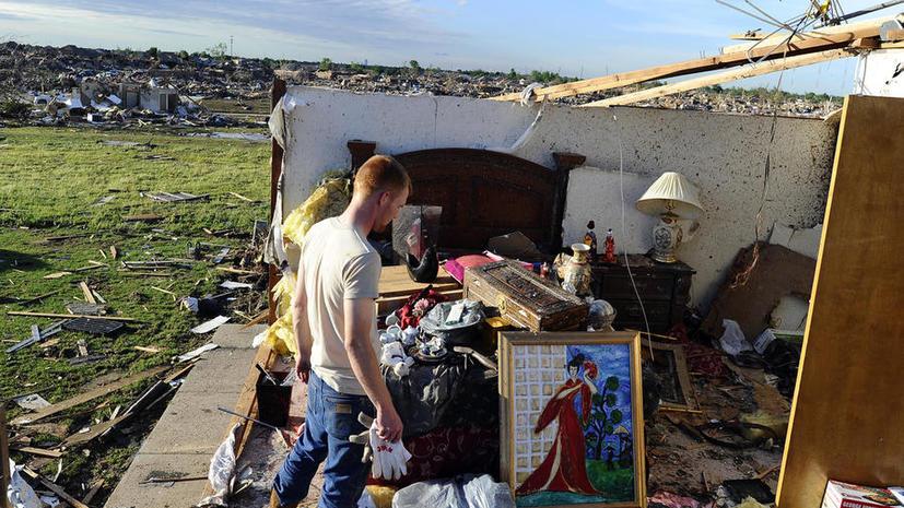 Демократы переложили вину за торнадо в Оклахоме на республиканцев