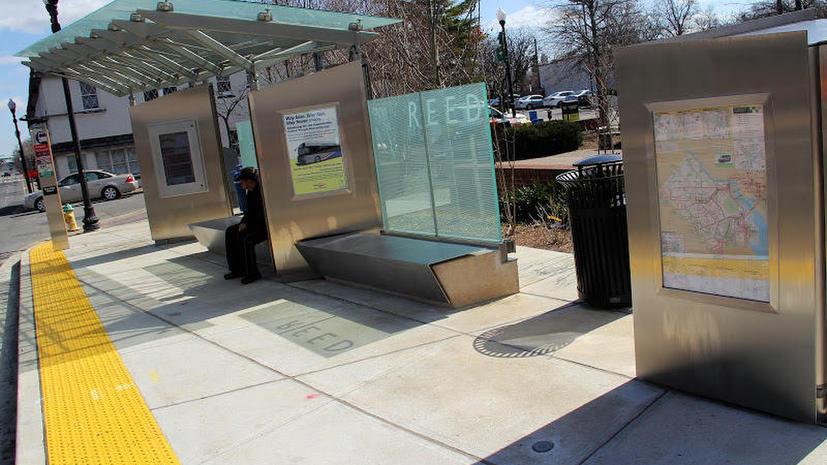 Американские чиновники построили в пригороде Вашингтона автобусную остановку за $1 млн