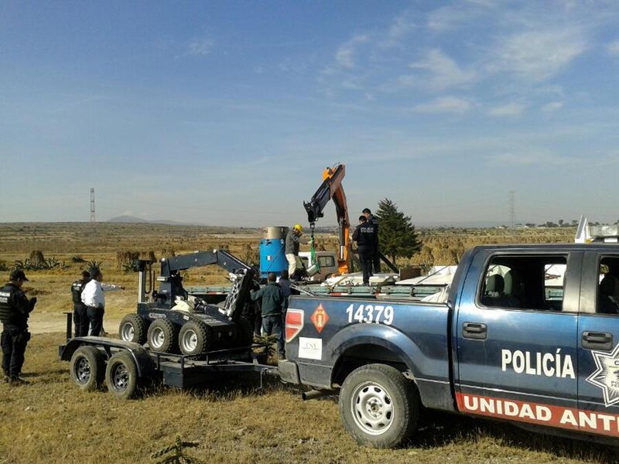На границе США и Мексики будут работать управляемые роботы