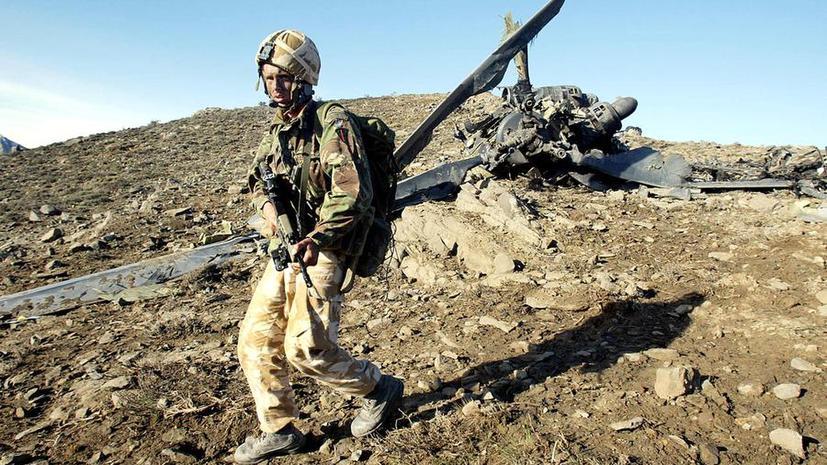 США уничтожают свою военную технику в Афганистане