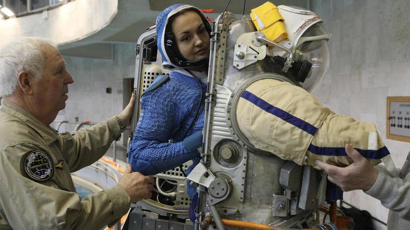 Спустя 17 лет женщина из России возвращается в космос