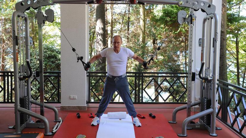 Британские СМИ: Владимир Путин поможет подняться с дивана и заняться собой