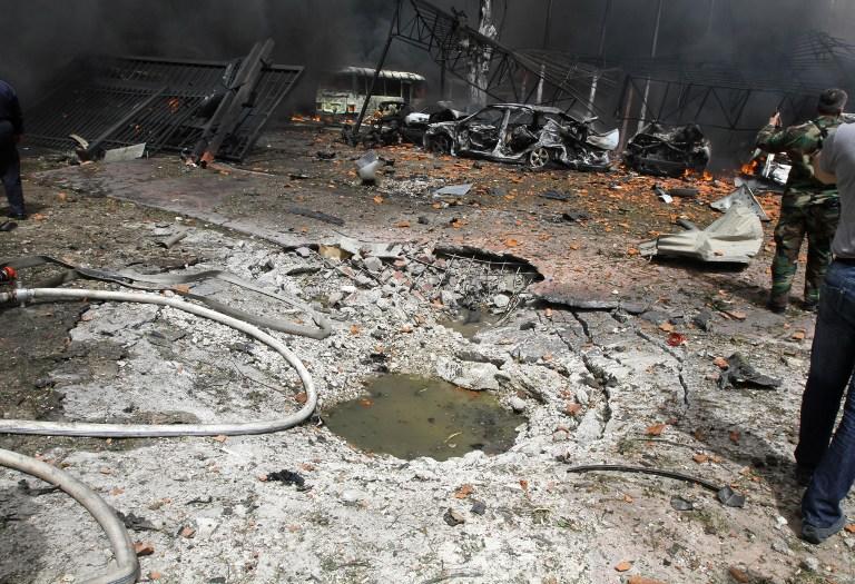 В пригороде Дамаска нашли свидетельства применения химоружия