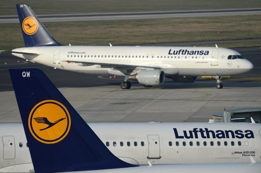 Почти 100 рейсов из Германии в Россию отменены из-за забастовки пилотов Lufthansa