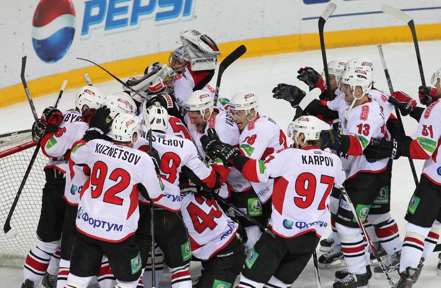 «Трактор» вырвал победу в серии с «Ак Барсом» и вышел в финал Кубка Гагарина