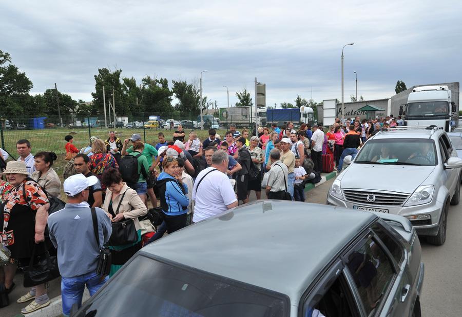 ФМС РФ: Гуманитарная катастрофа на юго-востоке Украины нарастает