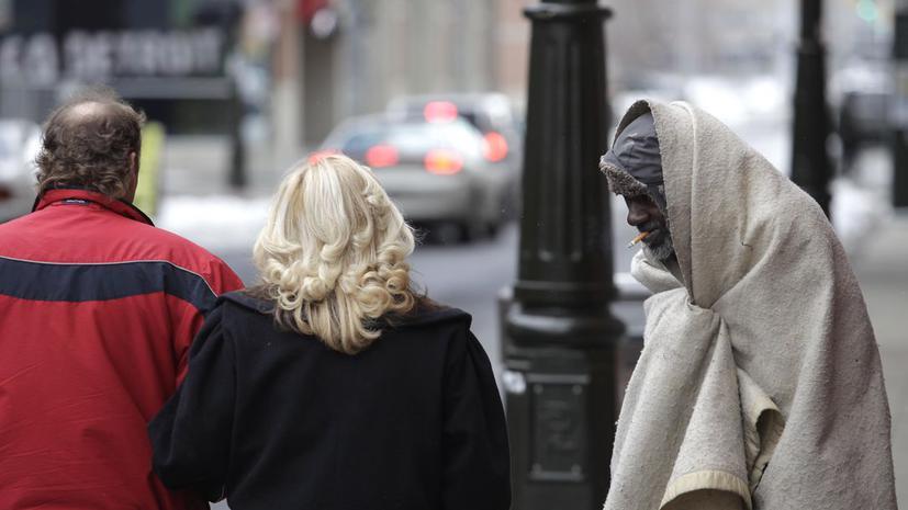 Нью-Йорк побил рекорд по числу бездомных