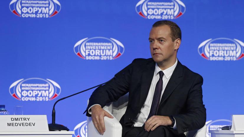 Дмитрий Медведев: Операция РФ против ИГ в Сирии направлена на защиту россиян от угрозы терроризма