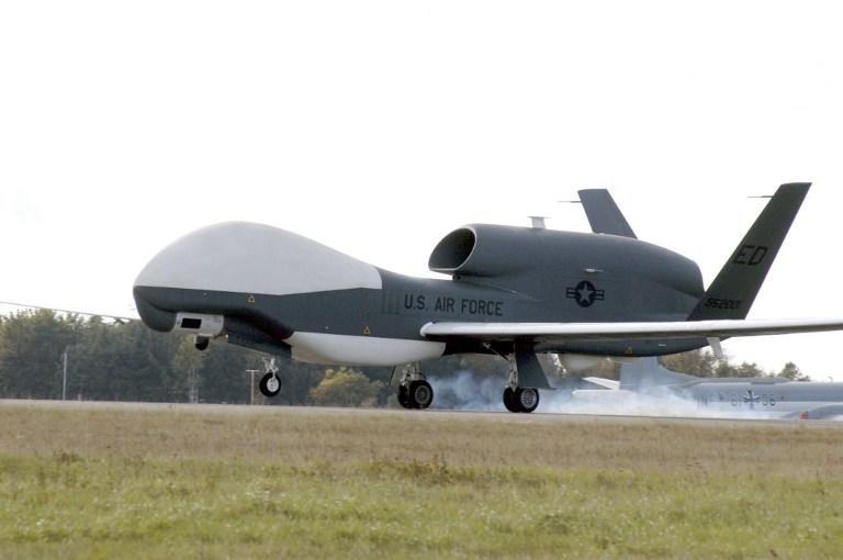 Американцы перевели два беспилотника Global Hawk в Японию для слежки за КНДР и Китаем