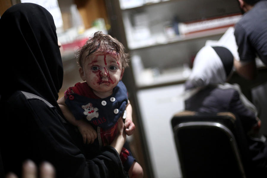 «Война, которая никогда не закончится»: Сирийские дети рассуждают о вооружённом конфликте в стране