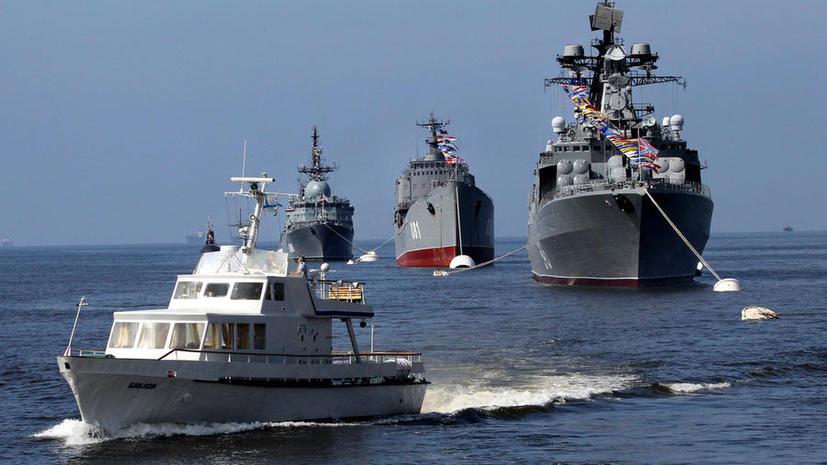 Россия провела учения у берегов Сирии на случай военного нападения на страну