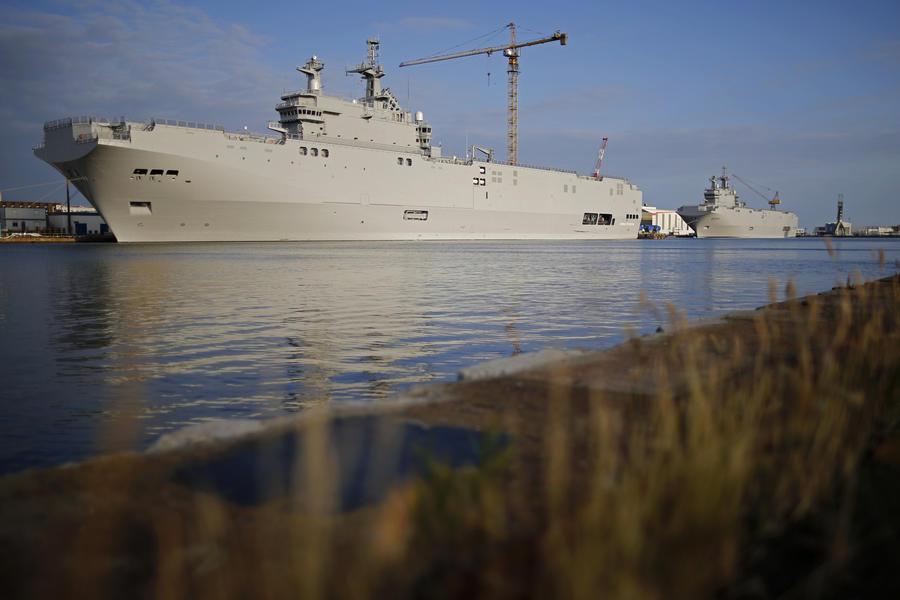 СМИ: Срыв контрактов по «Мистралям» — политическая и экономическая катастрофа для Франции