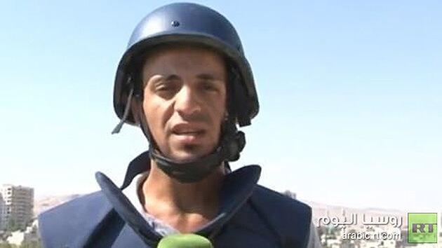 Внештатный корреспондент RT ранен в Сирии