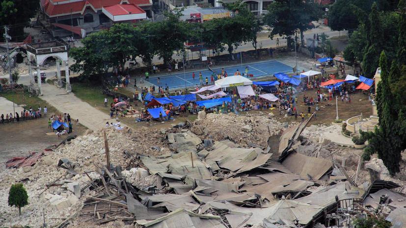 Землетрясение на Филиппинах: 144 человека погибли, около 300 получили ранения