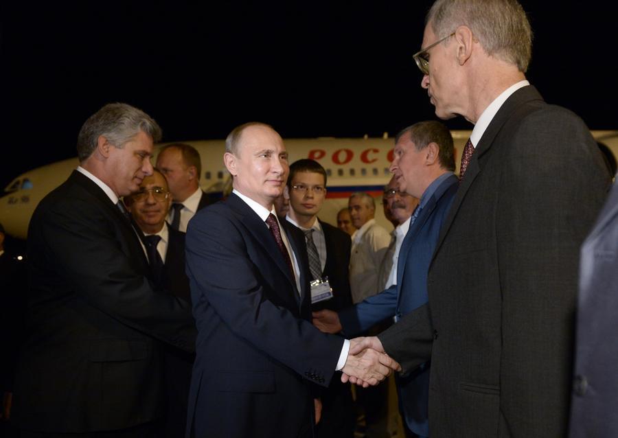 СМИ: Латиноамериканский вояж Путина заставит Вашингтон понервничать