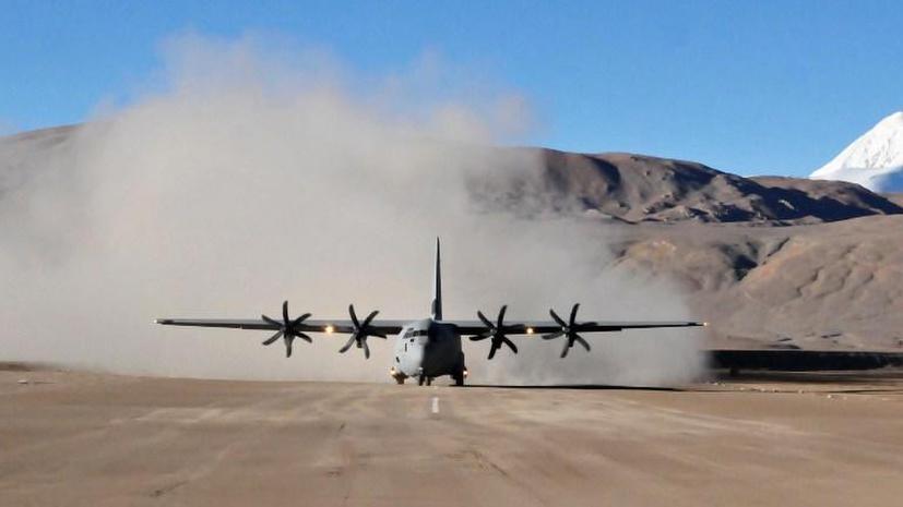 На востоке Алжира разбился военный самолёт, погибли более 100 человек