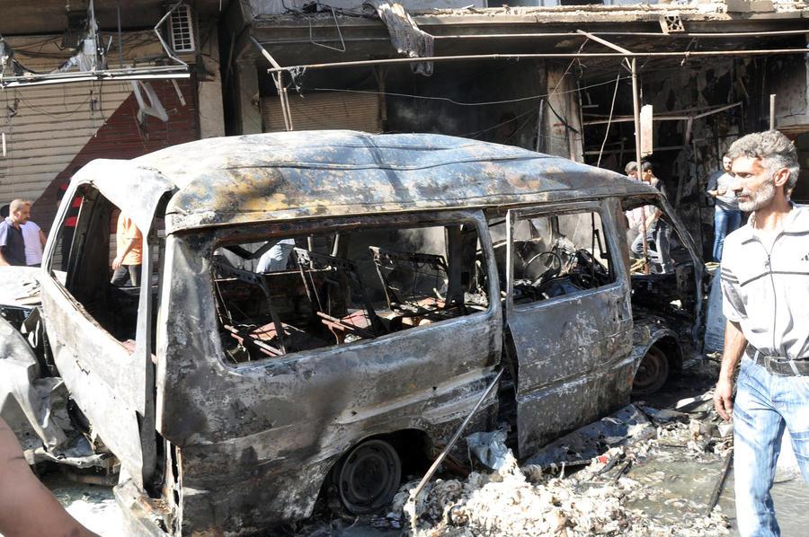 Экстремисты совершили серию кровавых терактов в столице Сирии
