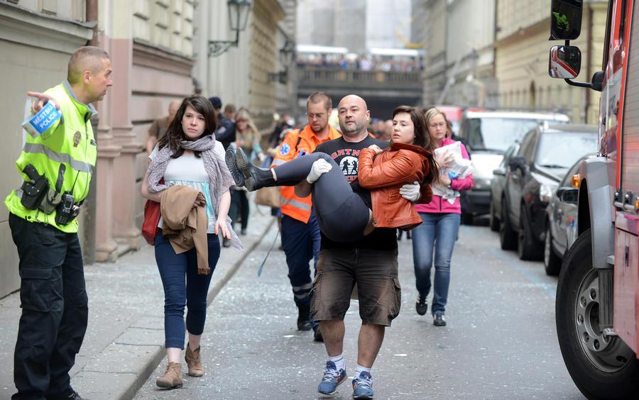 Взрыв в Праге не помешает проведению международного марафона