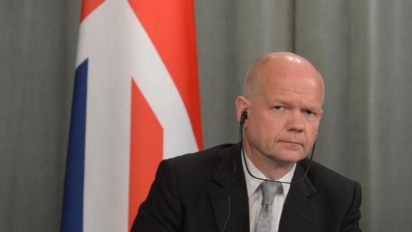 Глава МИД Великобритании: Страна не объявляла торговую войну России
