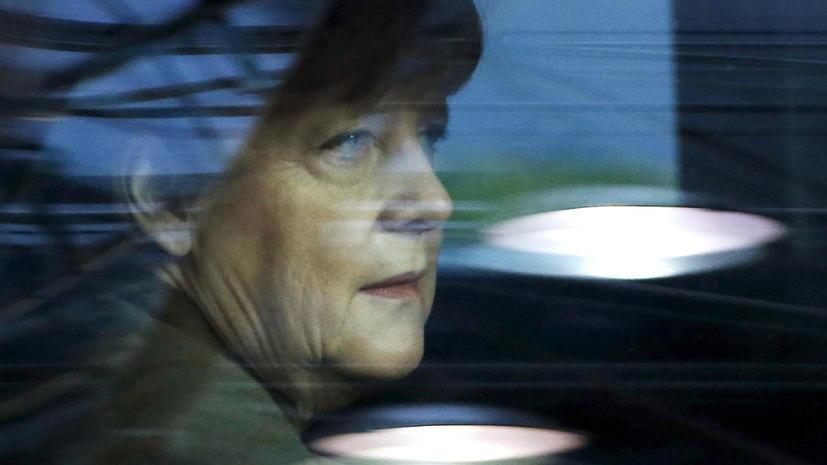 Ангела Меркель признала, что ситуация с беженцами выходит из-под контроля