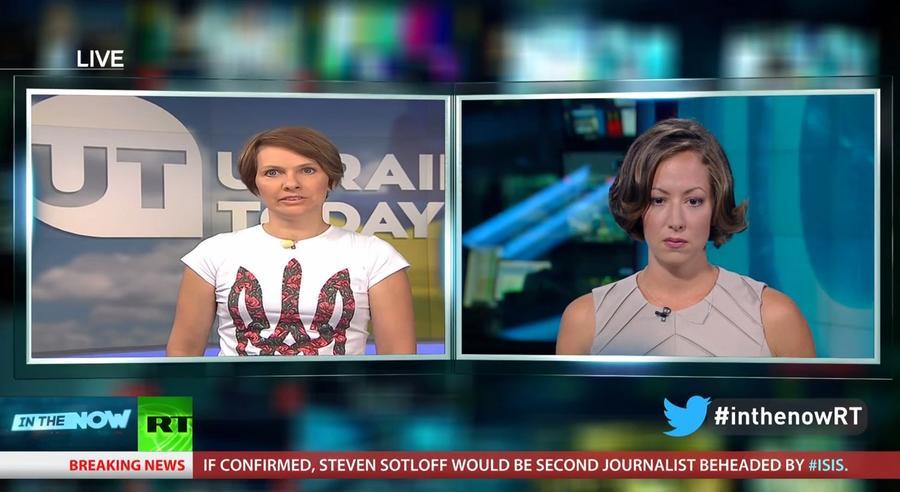 Продюсер Ukraine Today пригрозила RT международной информационной блокадой