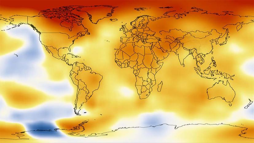 2012 год стал одним из самых жарких за всю историю США