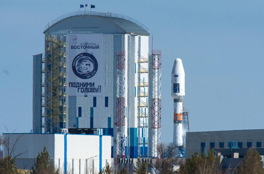 Первый пуск с космодрома Восточный перенесён на сутки