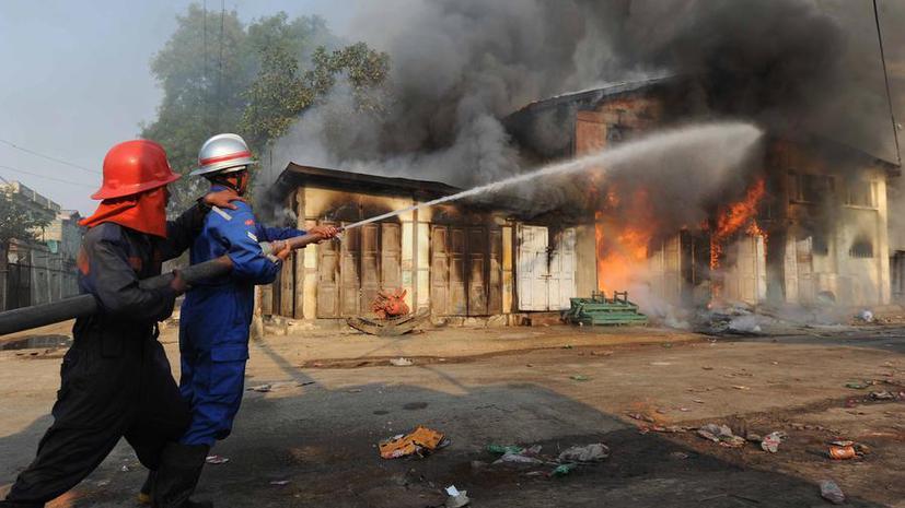 В исламской школе в Мьянме при пожаре погибли 13 человек