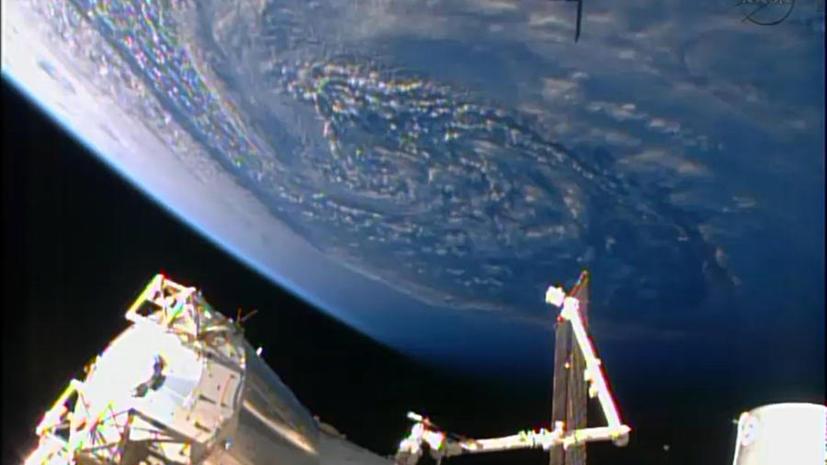 Из-за космического мусора перенесена коррекция работы МКС
