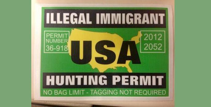Магазины в США выдают охотничьи билеты на нелегальных иммигрантов