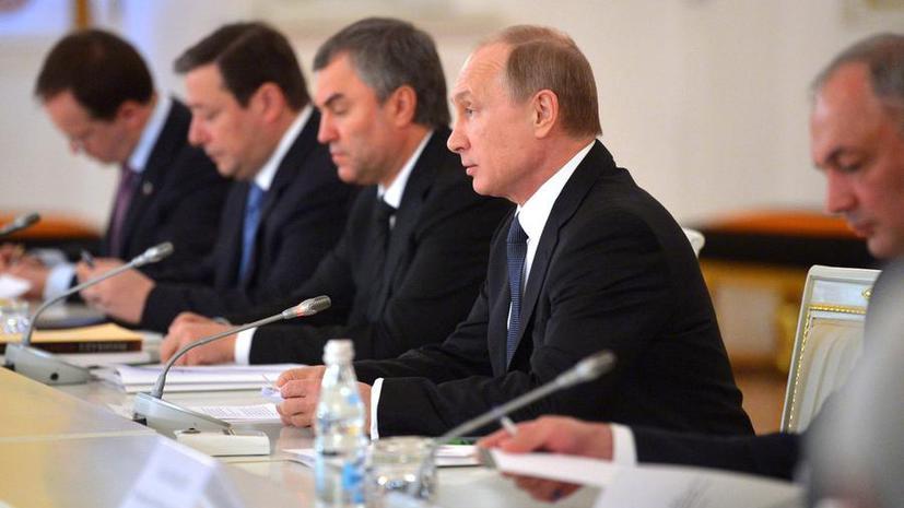 Владимир Путин: Нужно сохранять меру при использовании иностранных заимствований в русском языке